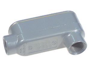 "Halex 58610 1"" RGD Threaded Conduit Bodies Type LB"