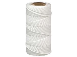 The Lehigh Group BNT12W6 500' #18 White Nylon Mason Line Twine