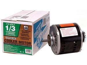 Dial Manufacturing 2202 1/3 HP 2 Speed Copperline Copper Replacement Motor