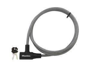 Master Lock 8154DPF 6' Padlock & Cable