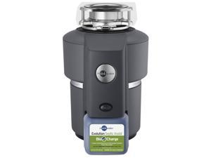 Insinkerator 74032 Evolution Series Septic Assist 120 volt Black Enamel Gray Food Waste Disposer