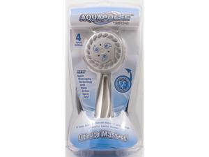 Waxman Consumer Group 8653000 Brushed Nickel AquaPulse Handheld Pulsating Shower Head