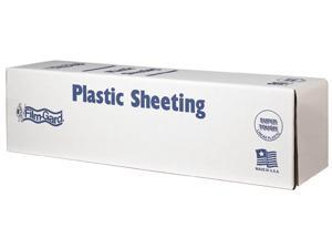 Covalence Plastics CLO812 12X400 12' X 400' 0.7 ML Painter Clear Plastic Sheeting