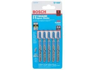 "Bosch Power Tools T118AF T-Shank Bi-Metal Jig Saw 3-5/8"" Blades"