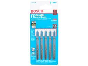 "Bosch Power Tools T118EF T-Shank Bi-Metal Jig Saw 3-5/8"" Blades"