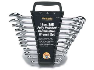 Wilmar W1061 11 Piece Full Polish Combination Wrench Set