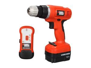 Black & Decker GCO12SFB 12V Drill/Driver with Stud Sensor and Storage Bag
