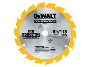 "Dewalt DW9155 6-1/2"" 16T Carbide Circular Saw Blade"