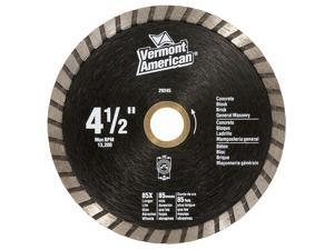 "Vermont American 29245 4-1/2"" Premium Turbo Diamond Blade"