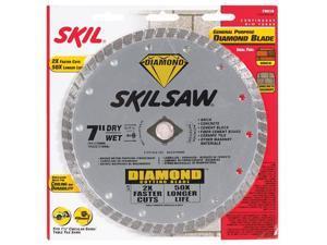 "Skil 79510 7"" Skilsaw® Diamond™ Circular Saw Blade"