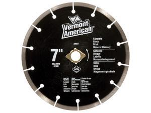 "Vermont American 28607 7"" Seqmented Premium General Purpose Diamond Blade"