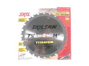 "Skil 75924 SkilSaw® Titanium 7-1/4"" Saw Blade Finishing/Crosscutting"