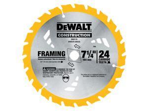 """Dewalt DW3178 7-1/4"""" Framing Circular Saw Blade"""