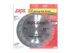 Skil 75302 2-Piece Circular Saw Blade Set