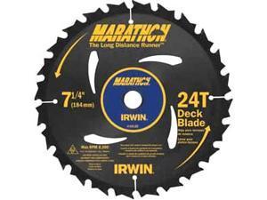 "Irwin Marathon 14130 7-1/4"" 24 Tooth  Marathon® Portable Corded Circular Saw Blades"