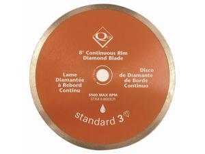 Qep 6-8003CR Diamond Blades, Continuous Rim