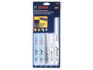Bosch Power Tools RAP10PK 10 Piece Reciprocating Saw Blade Set