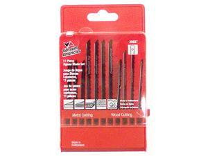 Vermont American 30037 11 Piece Assorted U-Shank Jig Saw Blade Set