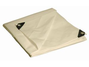 Foremost Tarp 31012 10' X 12' White Heavy Duty Tarp