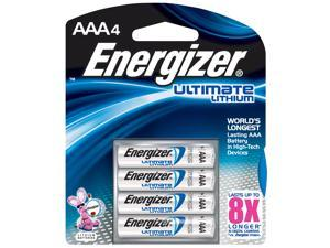 Energizer L92BP-4 E2® AAA Lithium Batteries