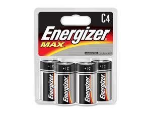 Energizer E93BP-4 4 Pack C Energizer® Max® Alkaline Batteries