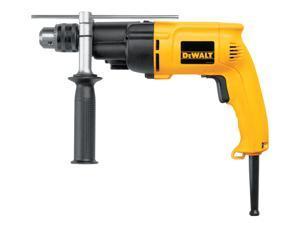 "Dewalt DW505K 1/2"" Heavy-Duty VSR Dual Range Hammer Drill Kit"