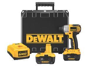 "Dewalt DC827KL 18 Volt 1/4"" Heavy Duty Impact Driver Kit With NANO™ Technology"