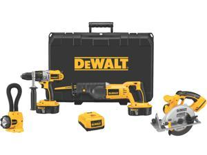 Dewalt DCK450X 4 Piece 18 Volt Combination Tool Kit