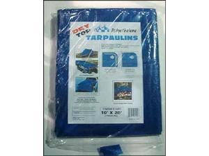 Dry Top Tarpaulins 02640 26 X 40' Blue Polyethylene Tarpaulin