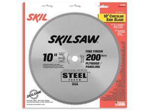 "Skil 74102 10"" 200 TPI Fine Finish, Plywood & Paneling Circular Saw Blade"