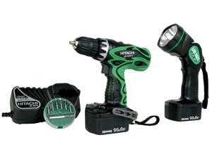 Hitachi Power Tools DS14DVF3 14.4 Volt Driver Drill Kit