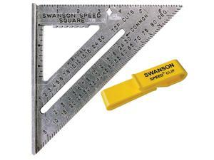 Swanson Tool S0101C Value Pack Speed® Square