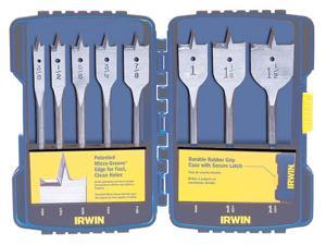 Irwin Speedbor 341008 8 Piece Set Speedbor® Flat Wood Boring Drill Bits