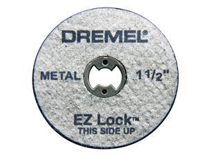 "Dremel EZ456 5 Count 1-1/2"" EZ Lock Cutoff Wheels"
