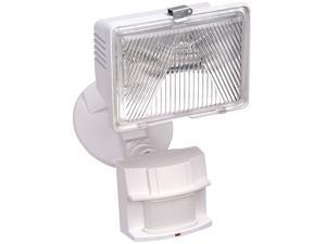 Heathco White 1 Bulb 250 Watt White Halogen Motion Flood Light