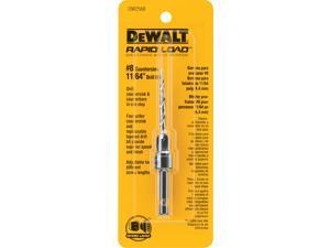 "Dewalt DW2568 #8 Countersink With 11/64""  Drill Bit"