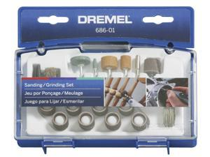 Dremel 686-01 31 Piece Sanding & Grinding Accessory Kit
