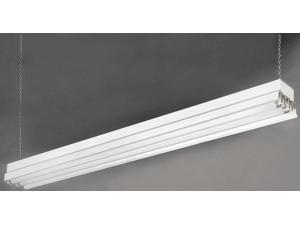 "Canarm White 48"" Fluorescent All Season Shop light"
