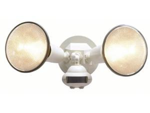 Cooper Lighting White White Motion Detector Floodlight