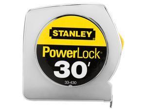 "Stanley Hand Tools 33-430 1"" X 30' PowerLock® Professional Tape Measure"