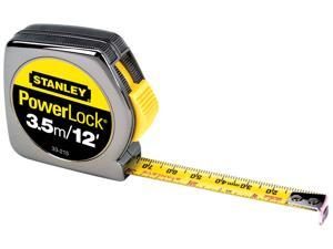 Stanley Hand Tools 33-212 12' PowerLock® Tape Measure With Stud Markings Every 16""