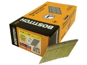 "Bostitch Stanley S8DGAL-FH 2,000 Count 2-3/8"" Thickcoat Galvanized® 28º Wire Collated Stick Framing Nails"