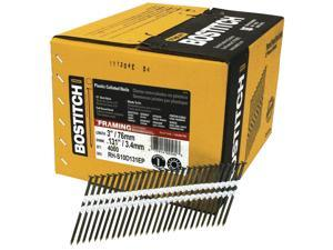 "Bostitch Stanley RH-S10D131EP 4,000 Count 3"" 10d Plain Shank Stick Nails"