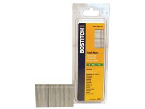 "Bostitch Stanley SB16-2.00 2,500 Count 2"" Coated 16 Gauge Straight Finish Nails"