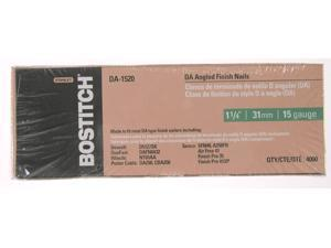 "Bostitch Stanley DA1540 4,000 Count 2-1/2"" DA Angled Finish Nails"