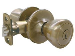Ultra Hardware 44042 Antique Brass With Eternity Finish™ Entry Lockset The Ritten