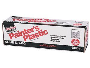 Covalence Plastics HD12400 12X400 12' X 400' Film-Gard® Clear Professional Painter's Plastic