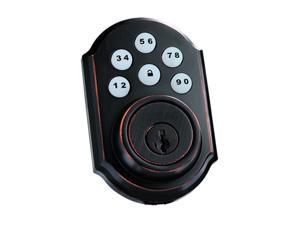 Kwikset SmartCode 910 Traditional Z-Wave Deadbolt, Venetian Bronze (99100-006)