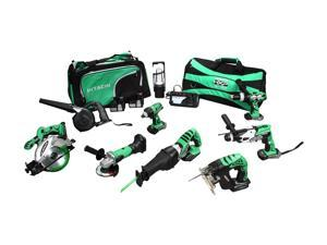 Hitachi KC18DX9L 18V Lithium Ion 9-Tool Combo Kit (3.0Ah)