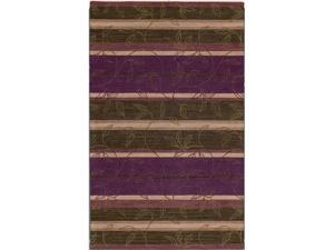 "Shaw Living Nexus Willow Area Rug Wine 3' 6"" x 5' 6"" 33778N0037"